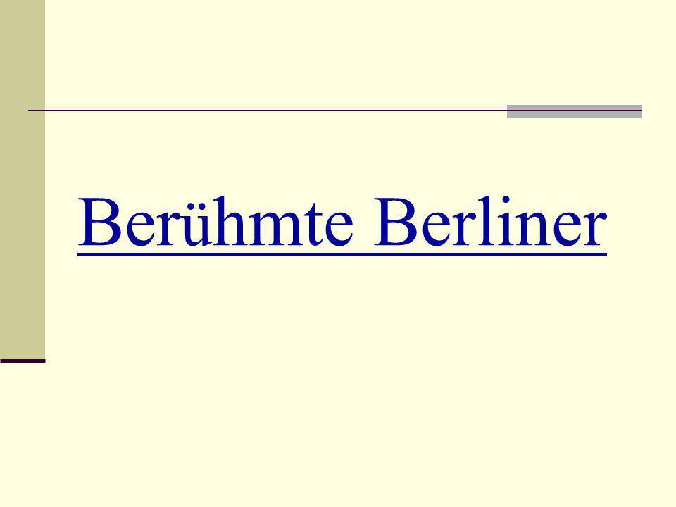 Berühmte Berliner