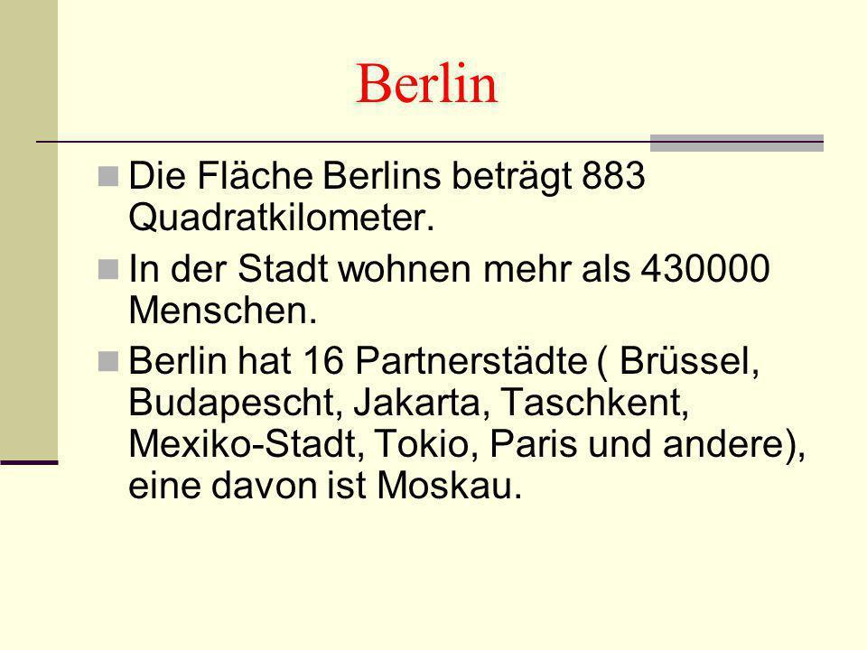 4 Berlin Die Fläche ...