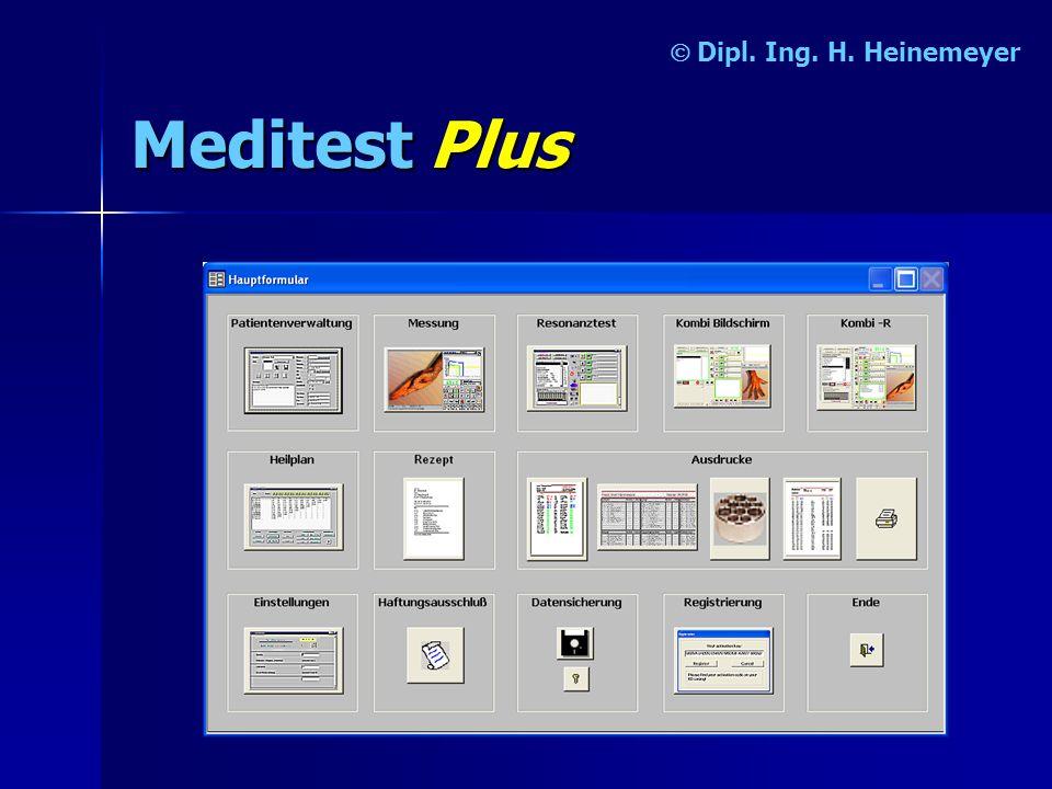 Ó Dipl. Ing. H. Heinemeyer Meditest Plus