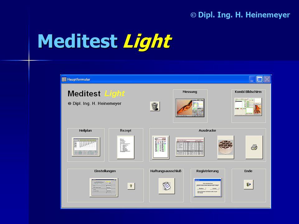 Ó Dipl. Ing. H. Heinemeyer Meditest Light