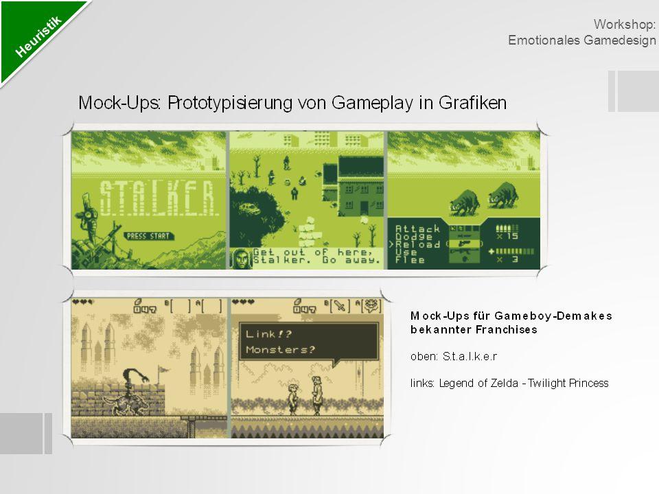 Emotionales Gamedesign