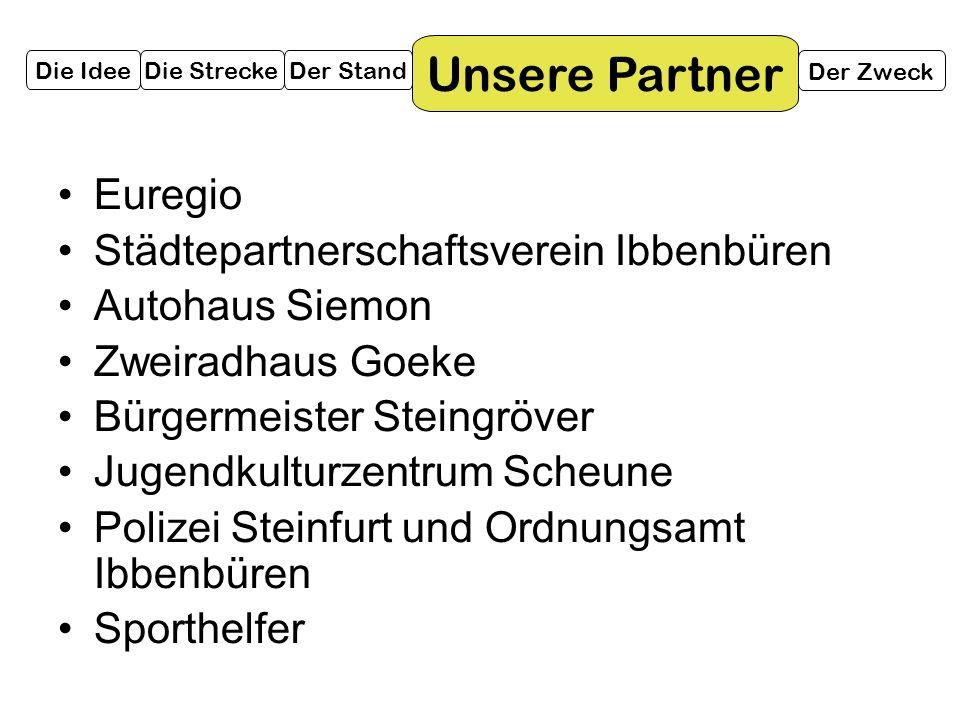 Unsere Partner Euregio Städtepartnerschaftsverein Ibbenbüren