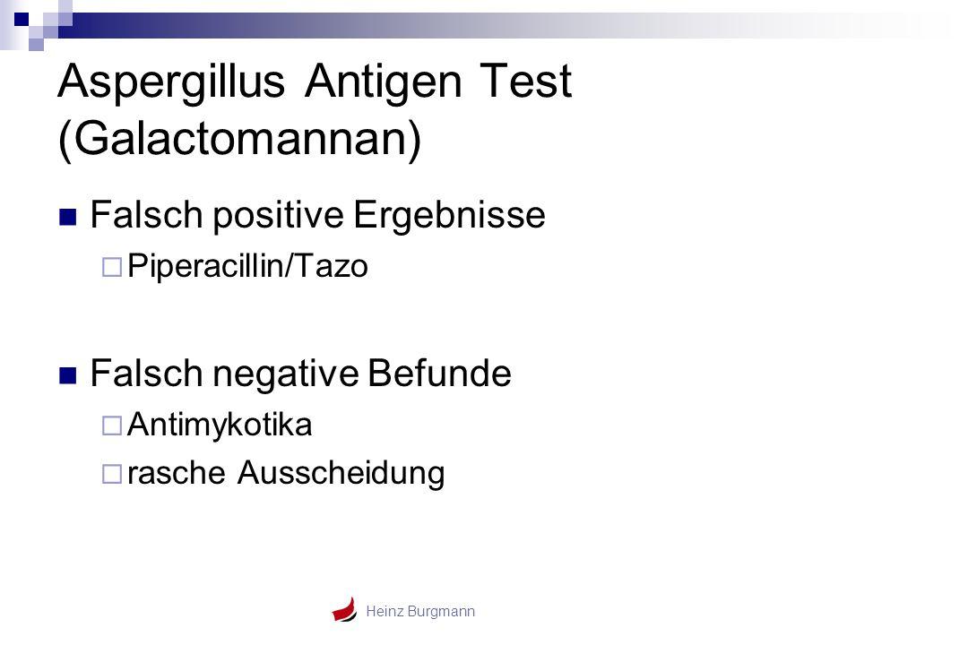 Aspergillus Antigen Test (Galactomannan)