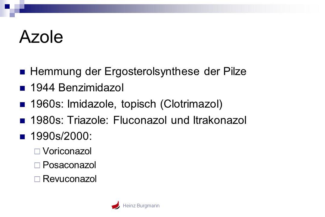 Azole Hemmung der Ergosterolsynthese der Pilze 1944 Benzimidazol