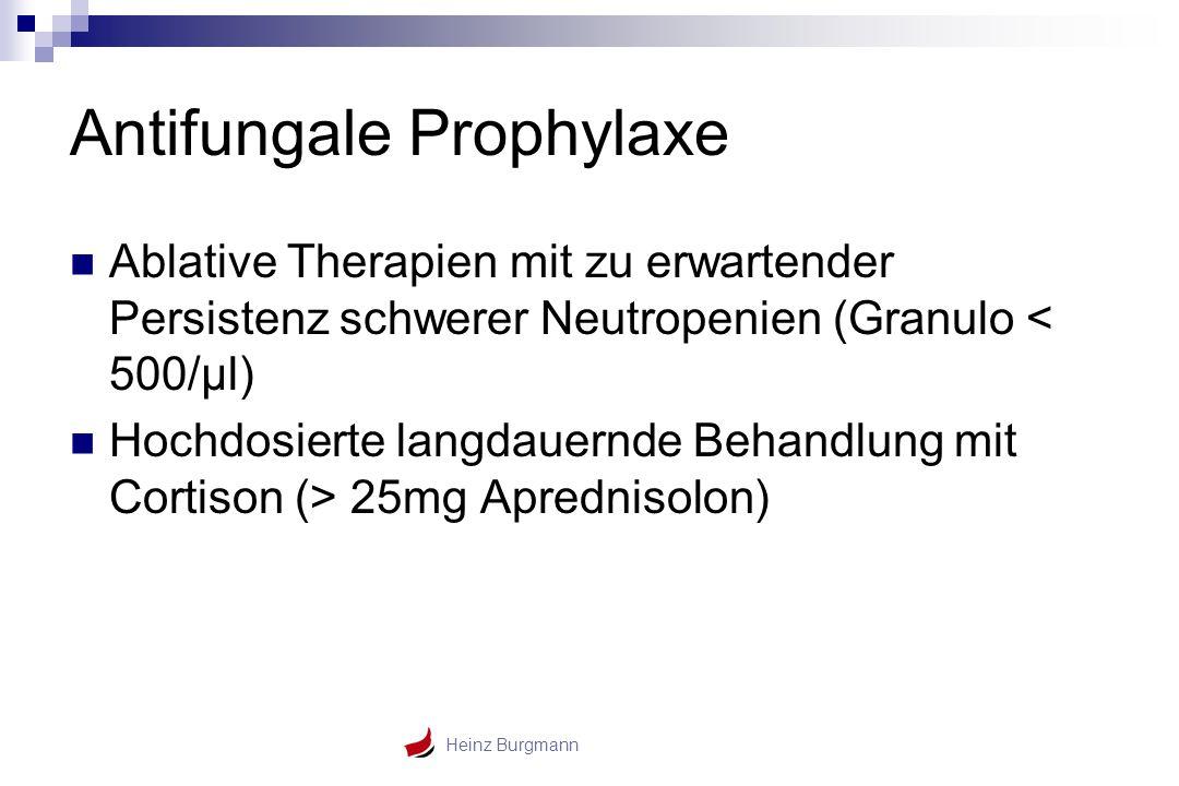 Antifungale Prophylaxe