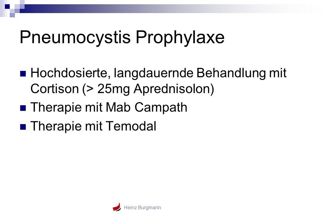 Pneumocystis Prophylaxe