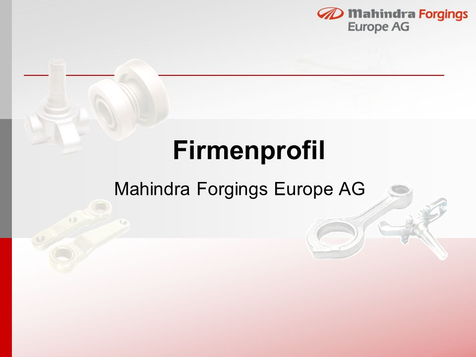 Mahindra Forgings Europe AG