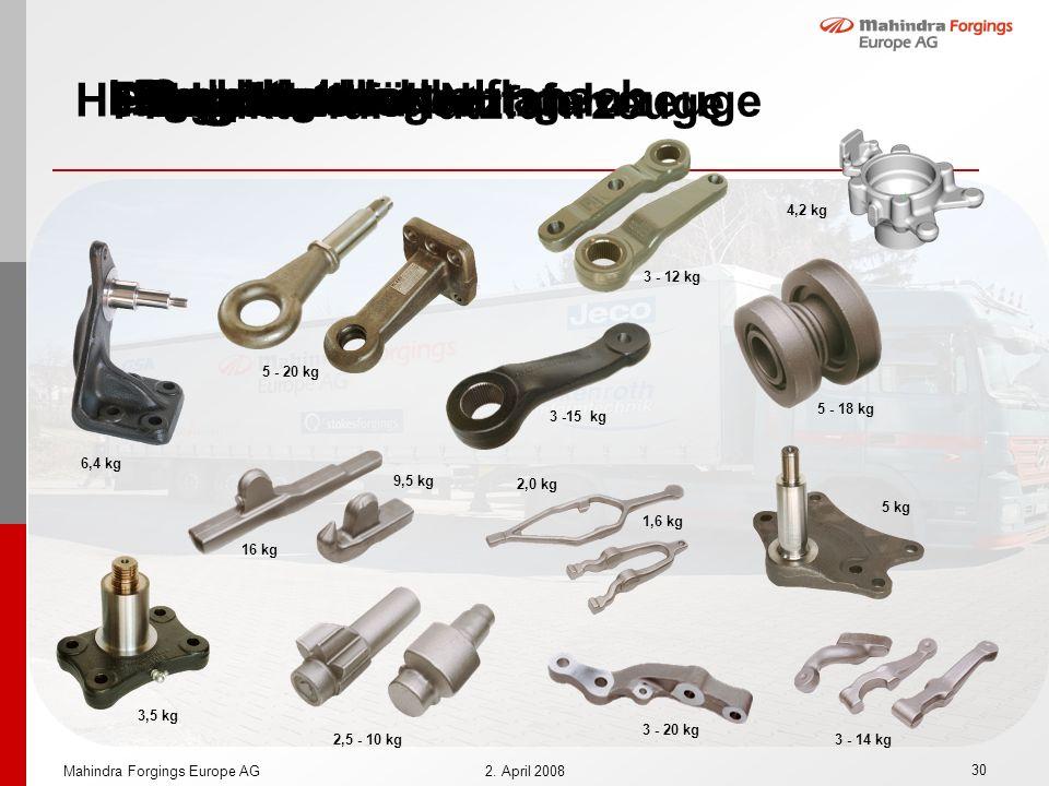 Produkte für Nutzfahrzeuge