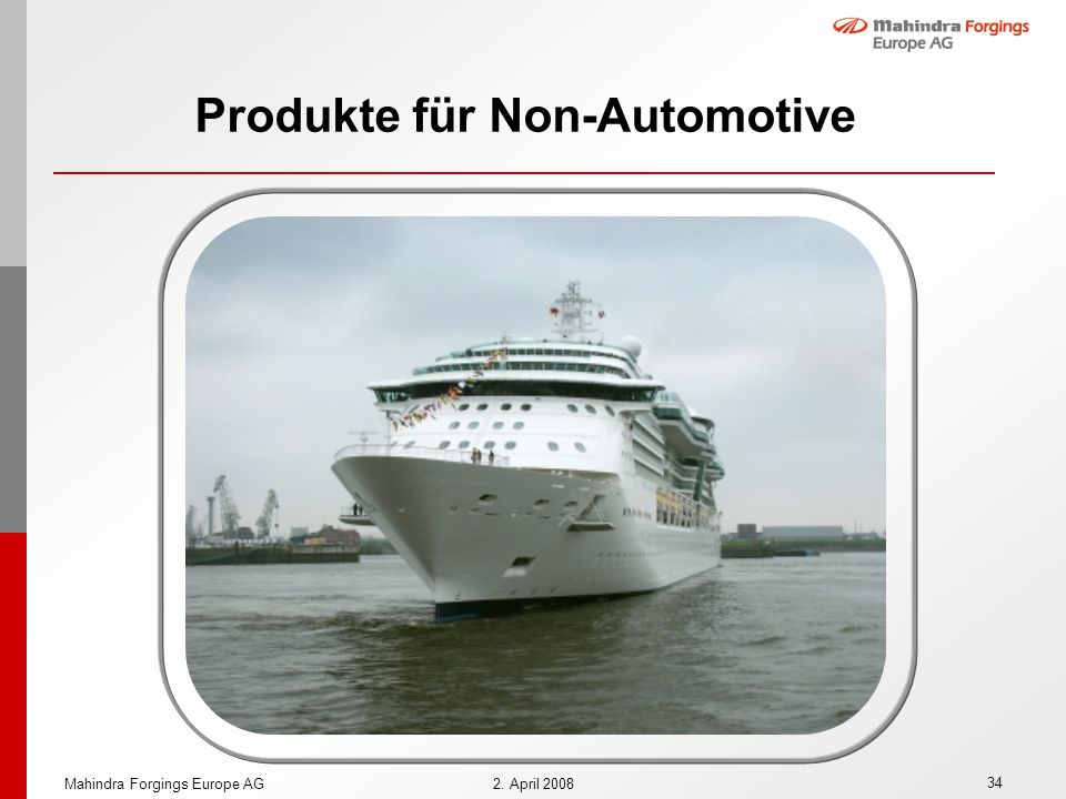Produkte für Non-Automotive