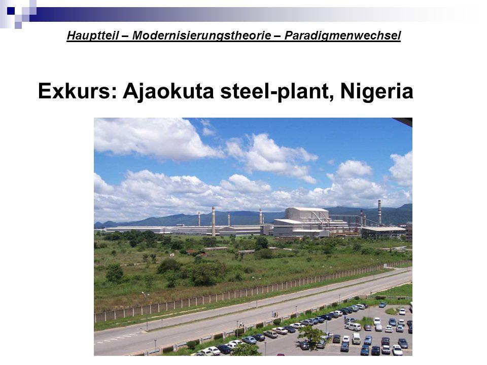 Exkurs: Ajaokuta steel-plant, Nigeria