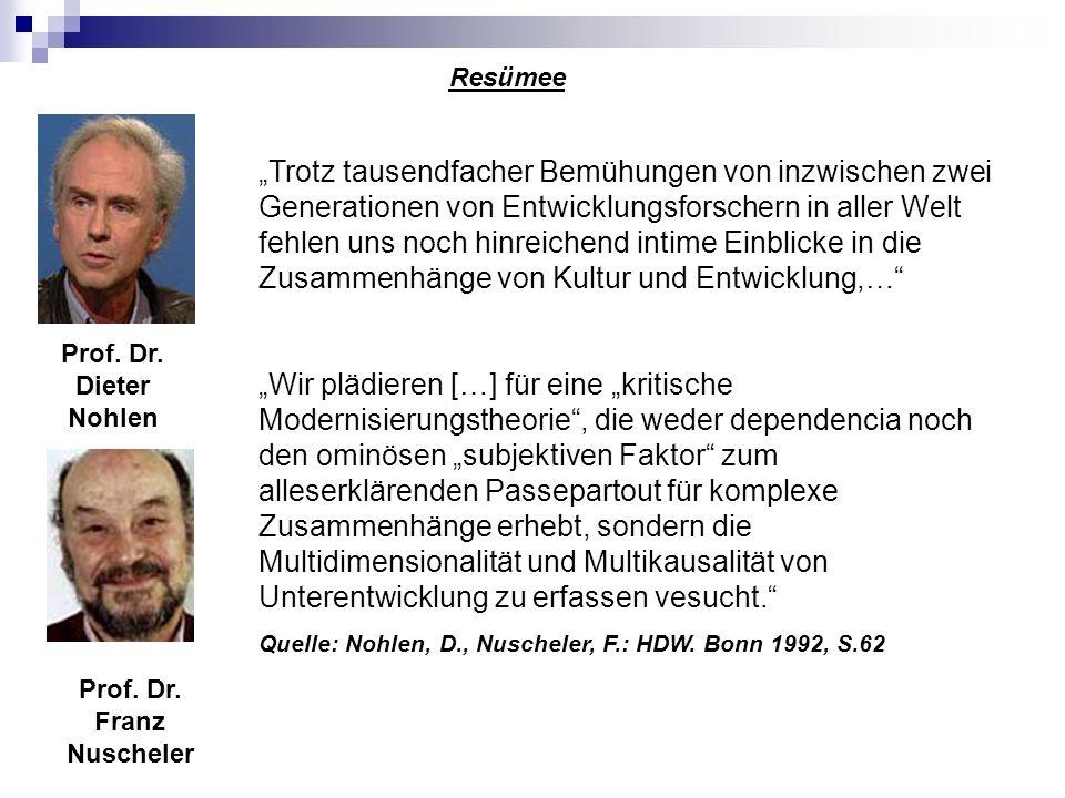 Prof. Dr. Franz Nuscheler