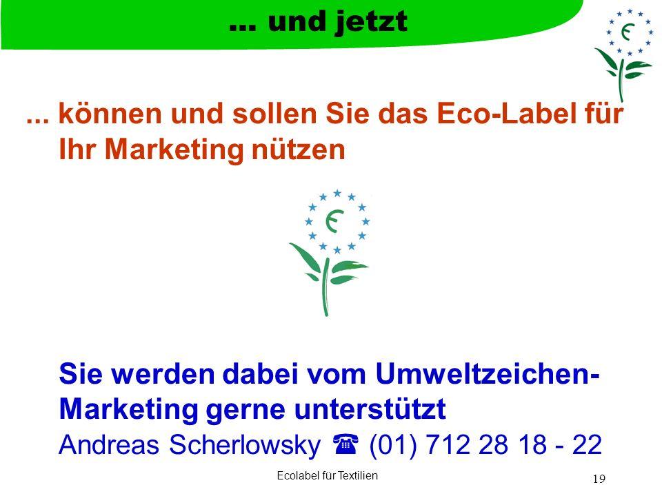 Ecolabel für Textilien
