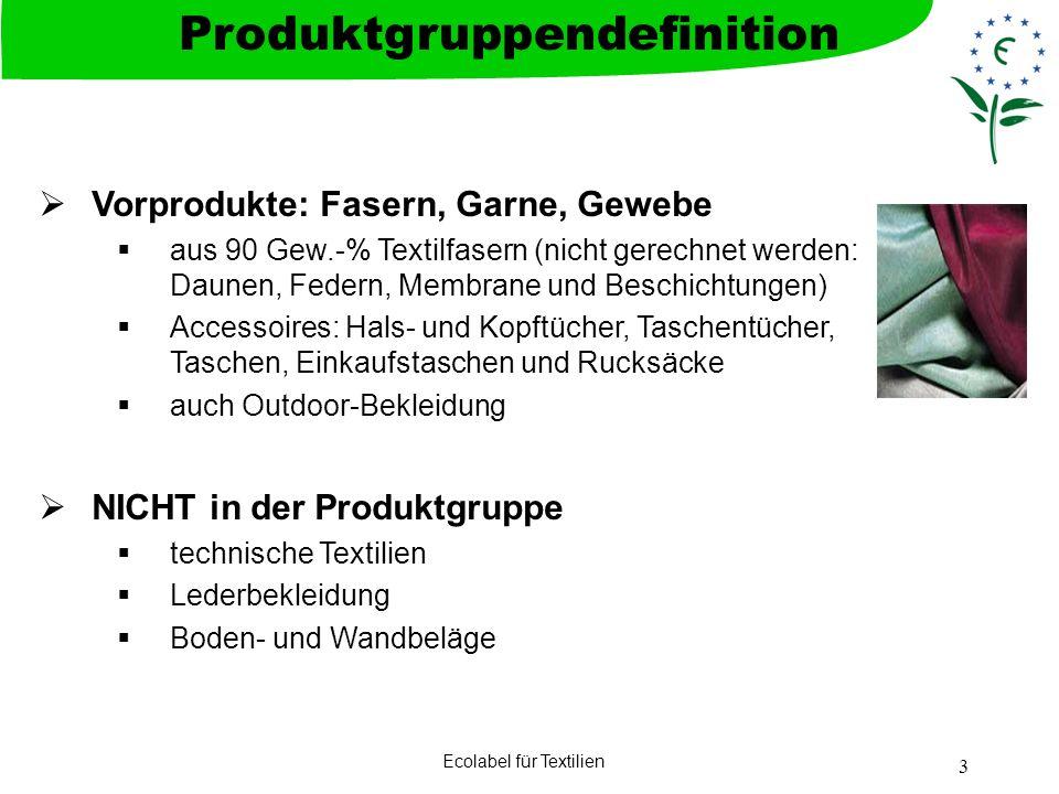 Produktgruppendefinition