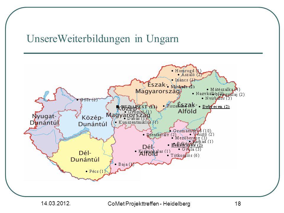 UnsereWeiterbildungen in Ungarn