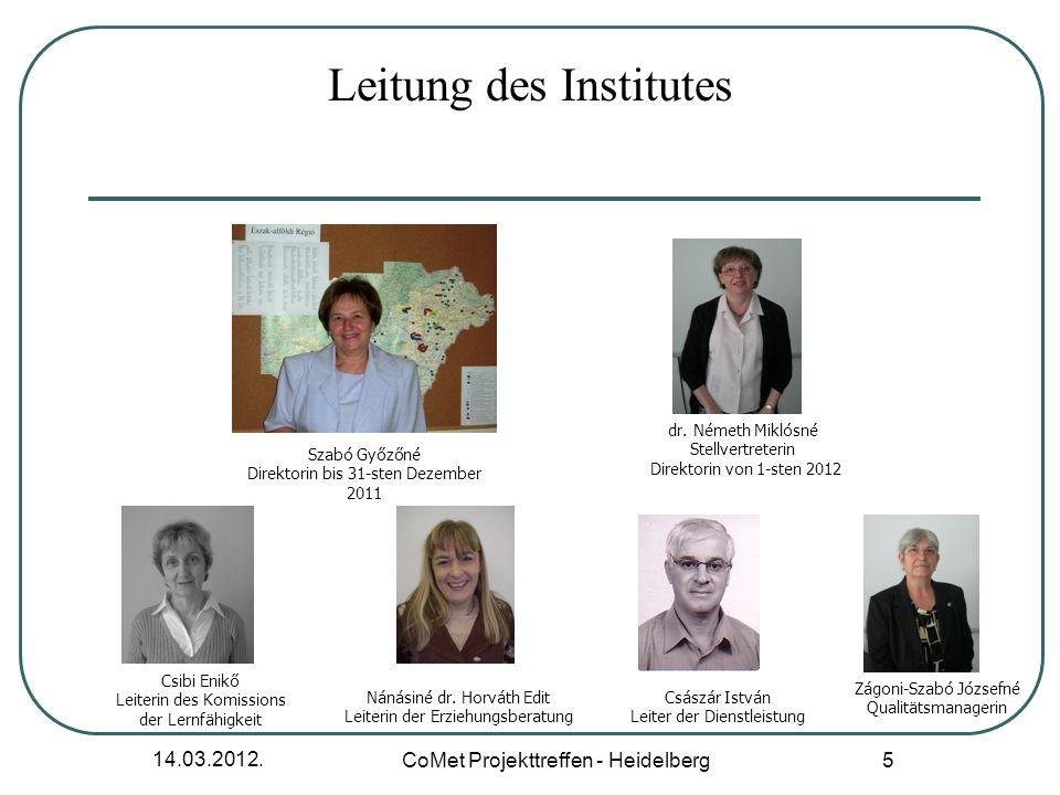 Leitung des Institutes
