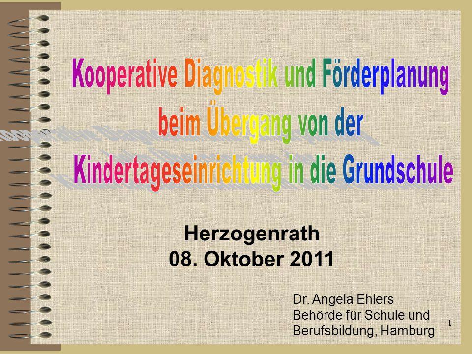 Kooperative Diagnostik und Förderplanung beim Übergang von der
