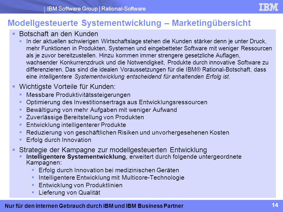 Modellgesteuerte Systementwicklung – Marketingübersicht