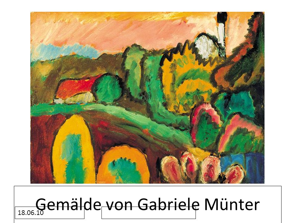 Gemälde von Gabriele Münter