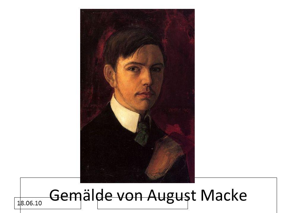Gemälde von August Macke