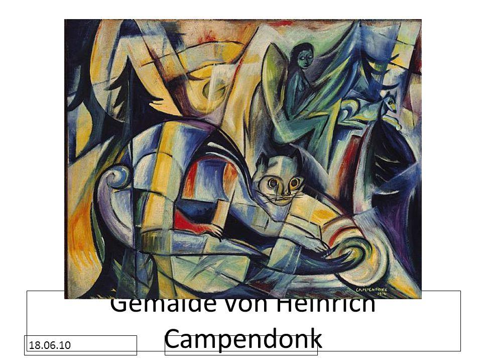 Gemälde von Heinrich Campendonk