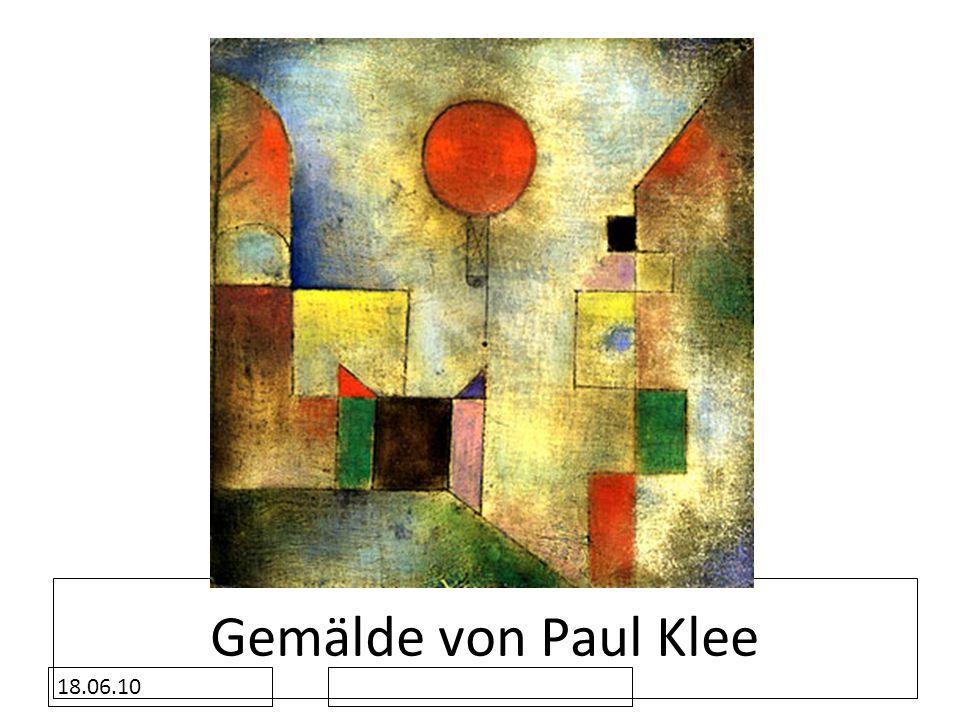 Gemälde von Paul Klee 18.06.10