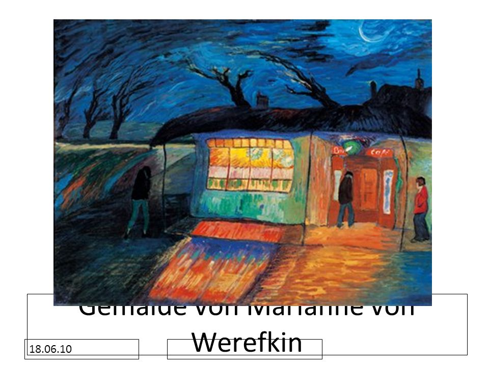 Gemälde von Marianne von Werefkin