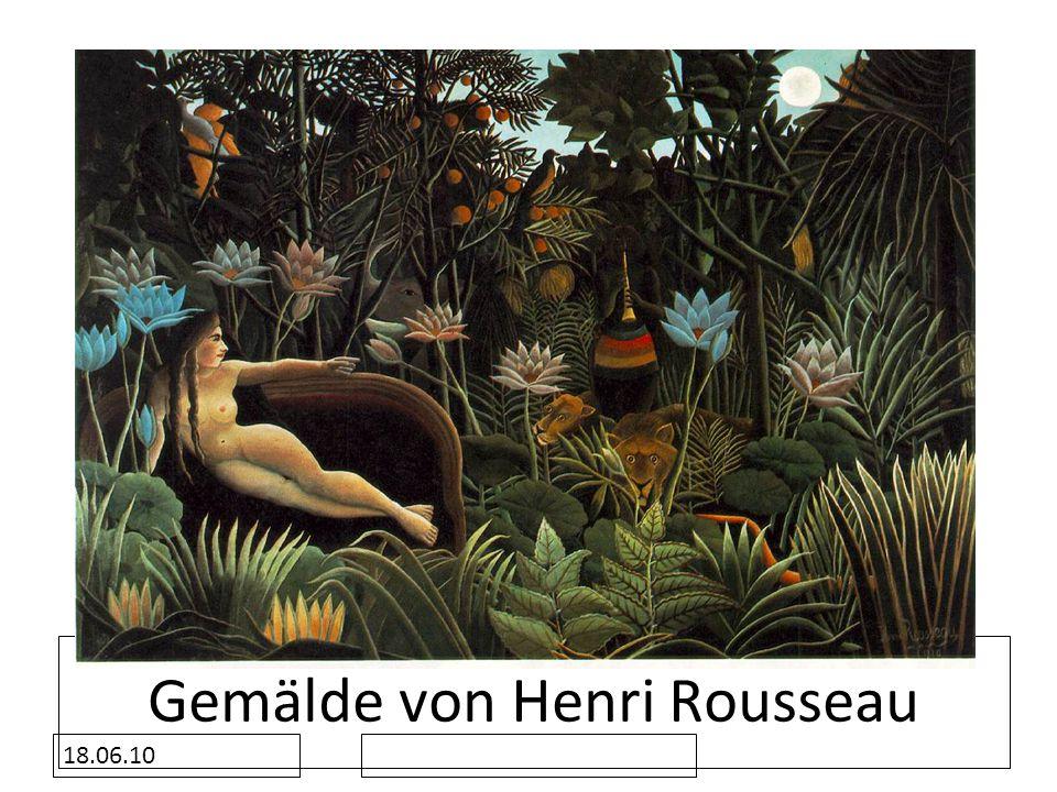 Gemälde von Henri Rousseau