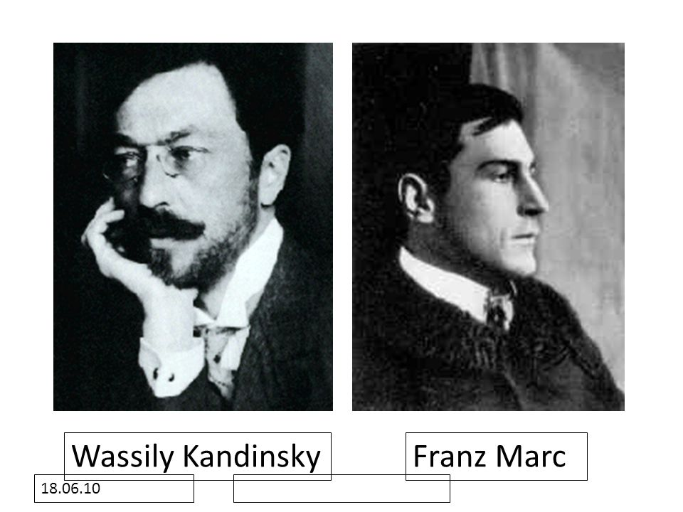 Wassily Kandinsky Franz Marc 18.06.10