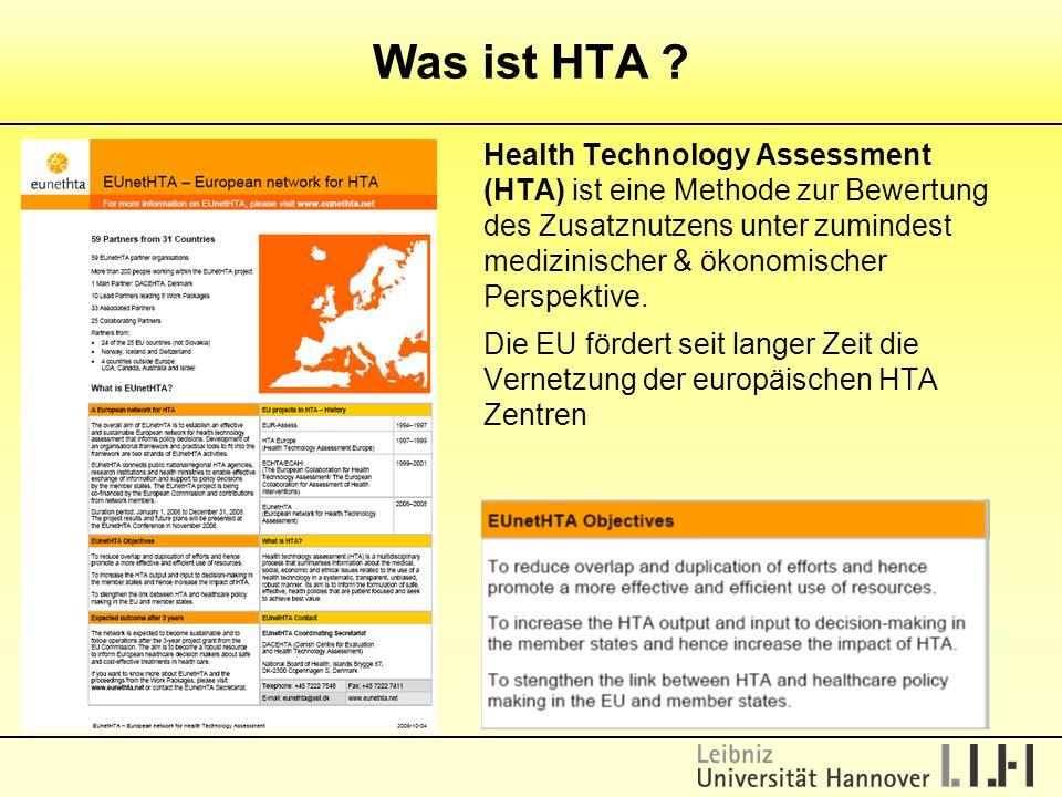 Was ist HTA