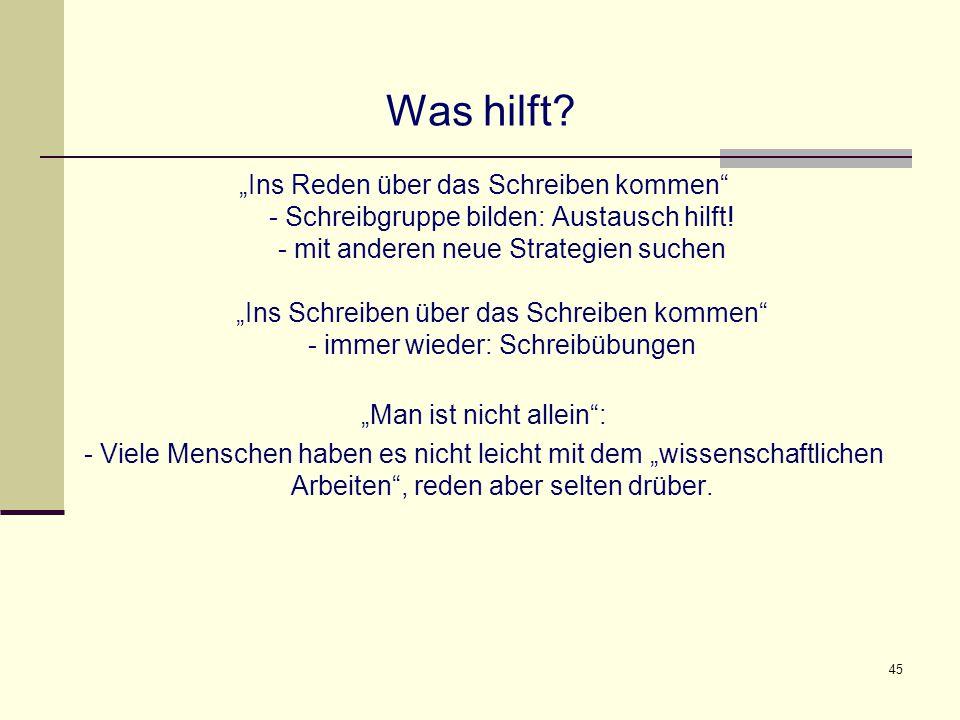 """""""Man ist nicht allein :"""