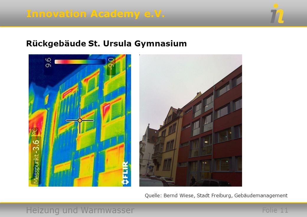 Rückgebäude St. Ursula Gymnasium