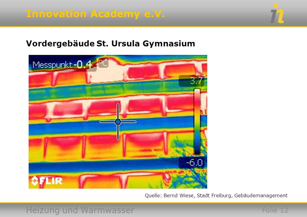 Vordergebäude St. Ursula Gymnasium