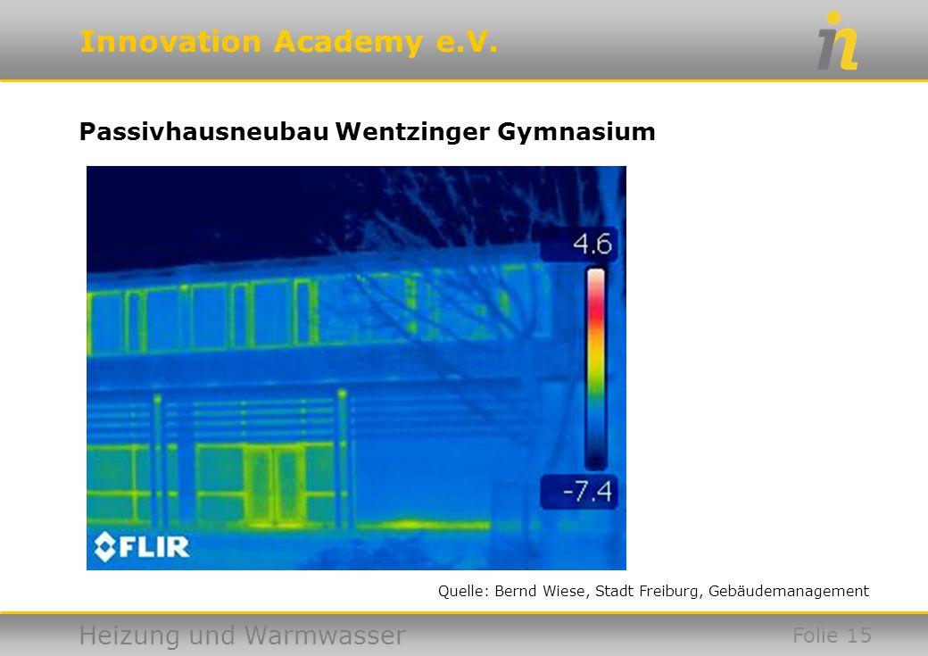 Passivhausneubau Wentzinger Gymnasium
