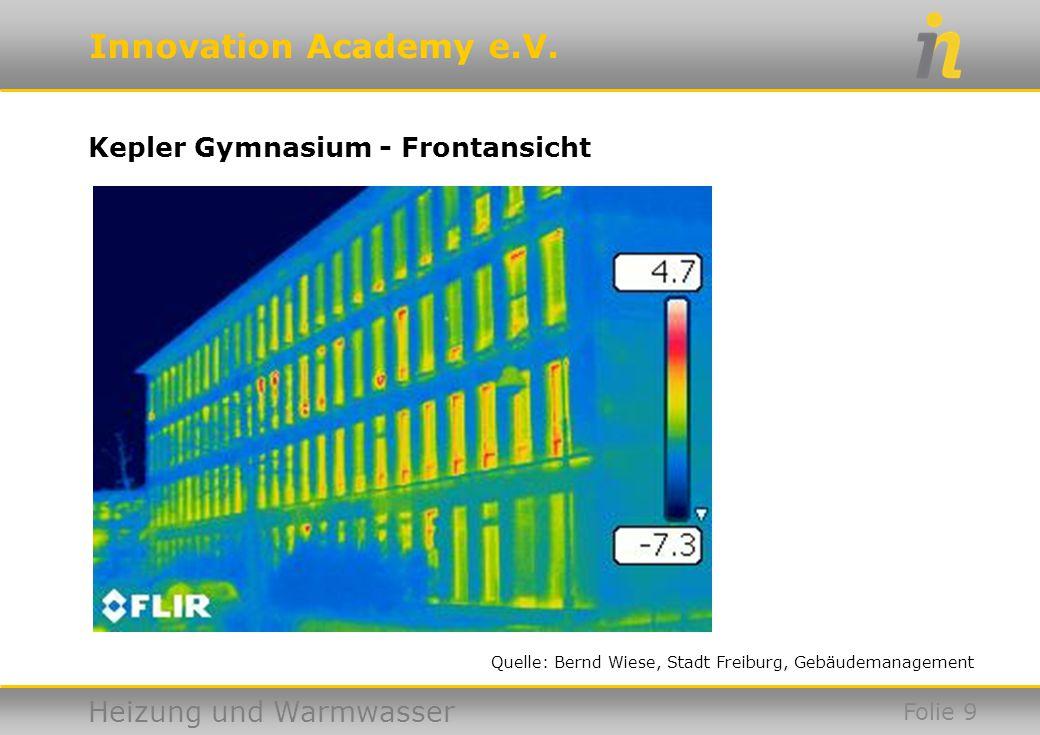 Kepler Gymnasium - Frontansicht