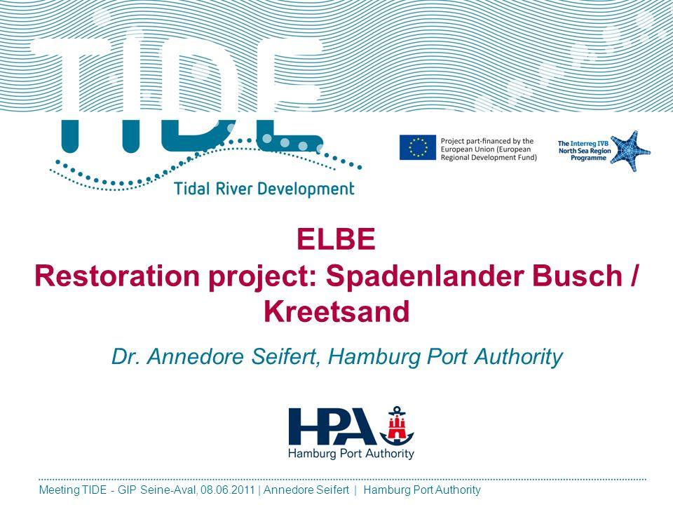 ELBE Restoration project: Spadenlander Busch / Kreetsand