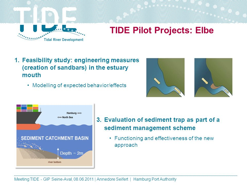 TIDE Pilot Projects: Elbe