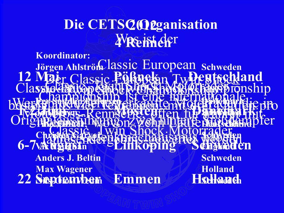 Die CETSC Organisation