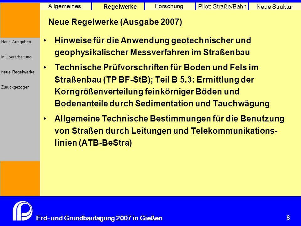 """Merkblatt über das Bauverfahren """"Bewehrte Erde"""