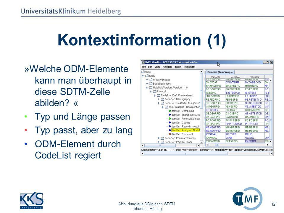 Kontextinformation (1)