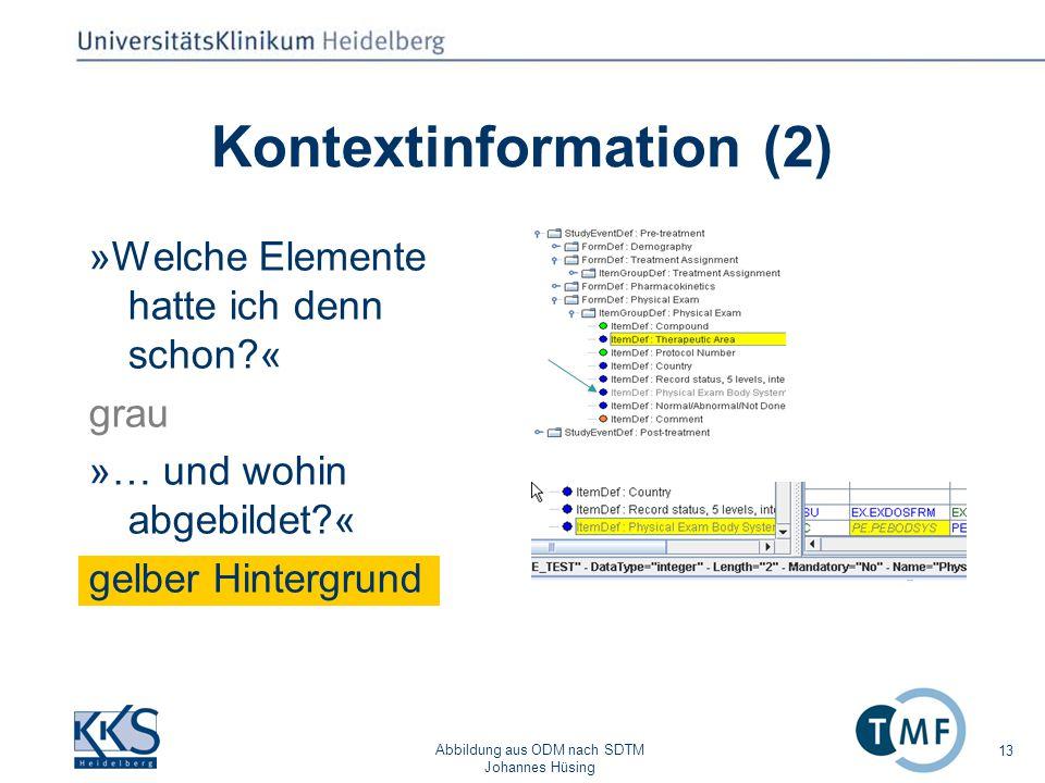 Kontextinformation (2)