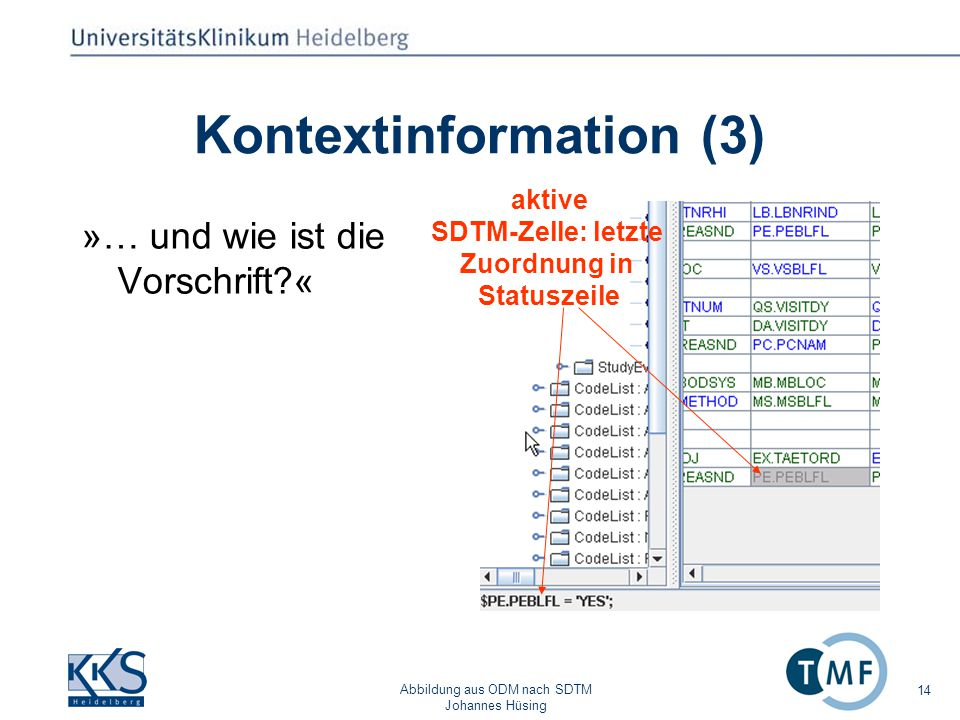 Kontextinformation (3)