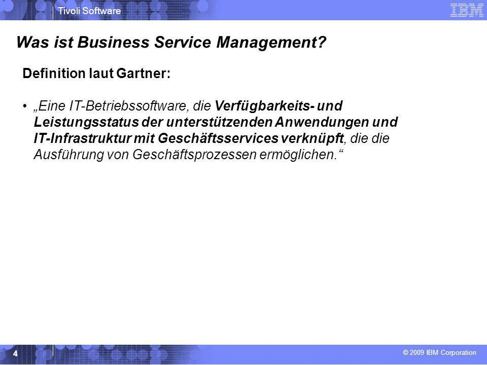 Was ist Business Service Management