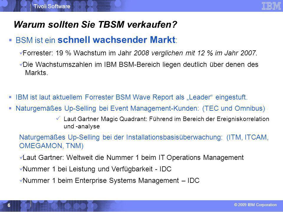 Warum sollten Sie TBSM verkaufen