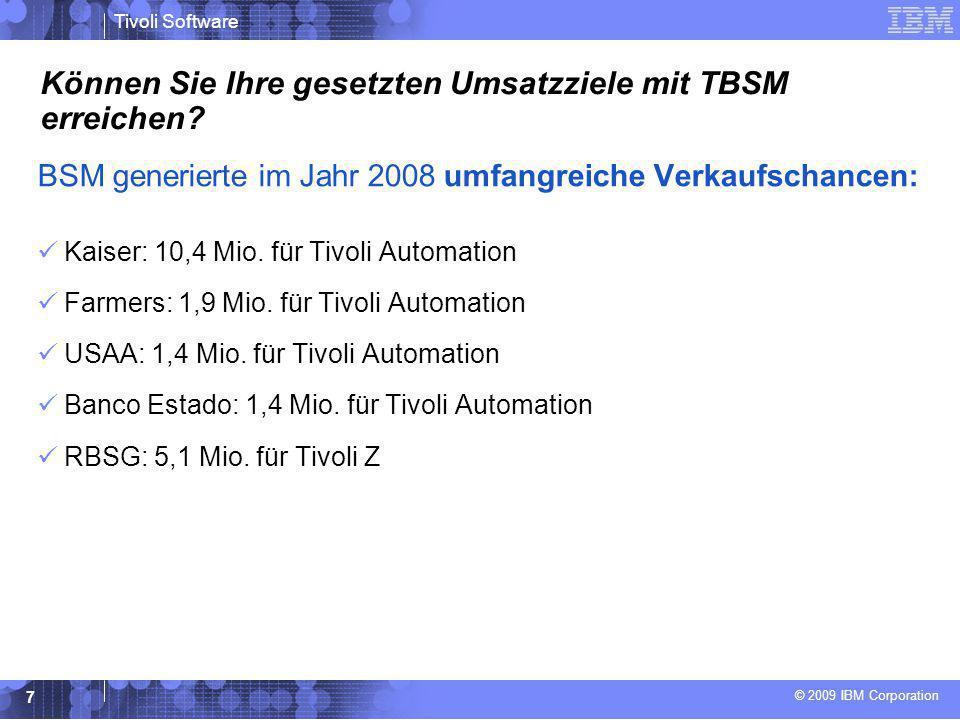 Können Sie Ihre gesetzten Umsatzziele mit TBSM erreichen
