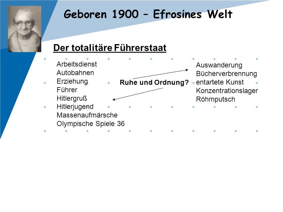 Der totalitäre Führerstaat