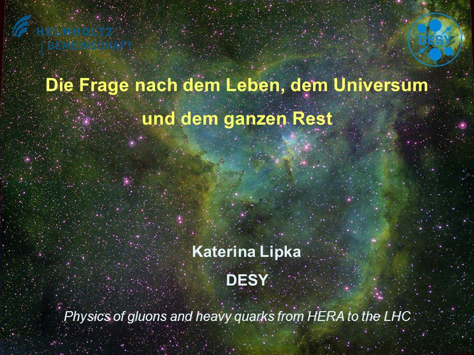 Die Frage nach dem Leben, dem Universum