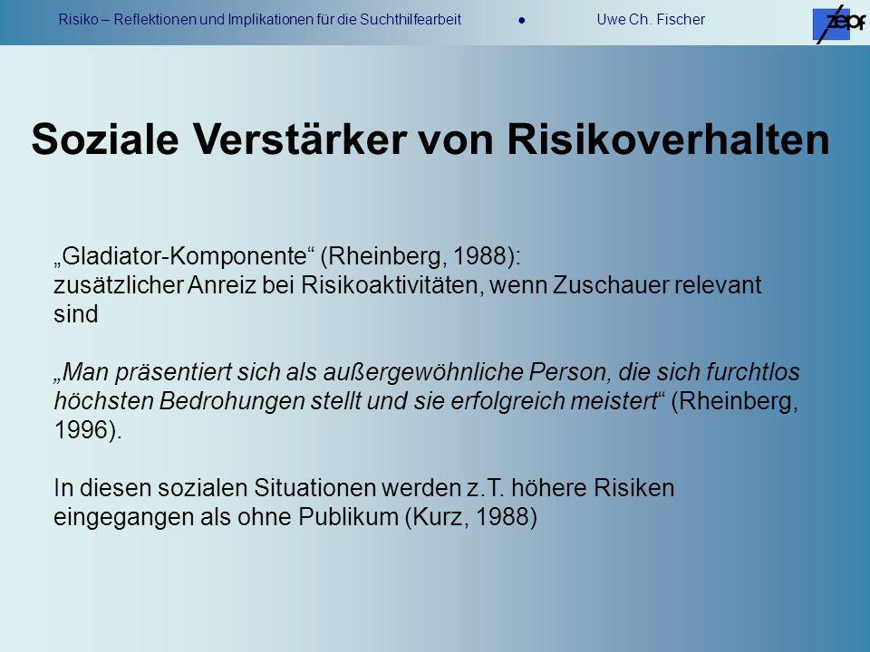 Soziale Verstärker von Risikoverhalten