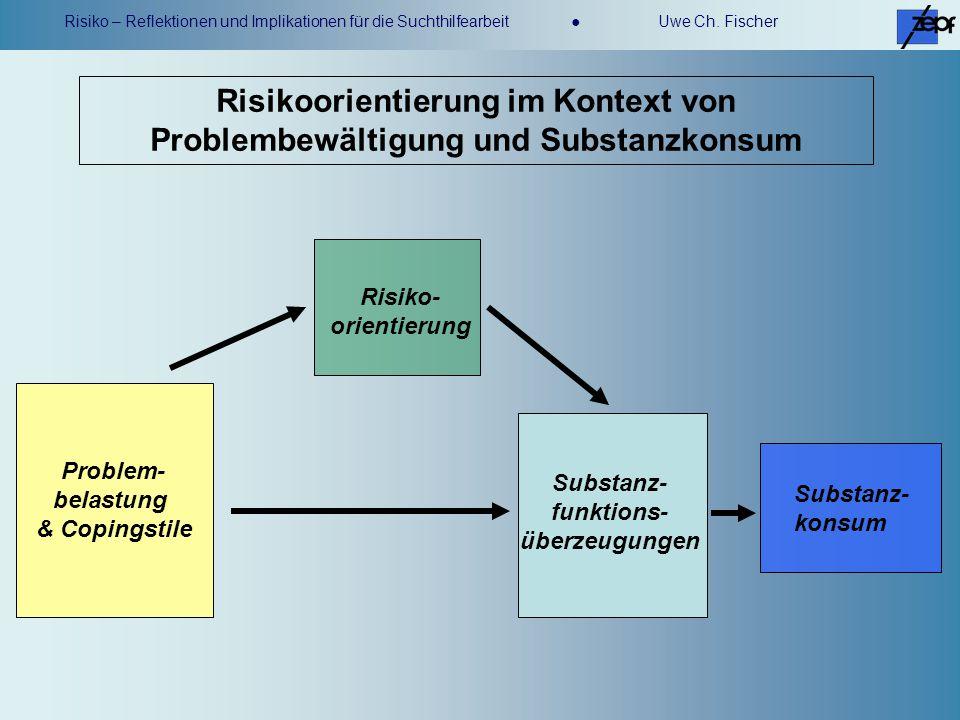 Risikoorientierung im Kontext von Problembewältigung und Substanzkonsum