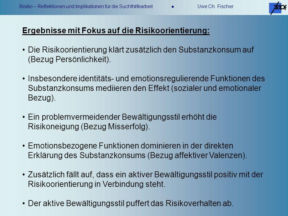 Ergebnisse mit Fokus auf die Risikoorientierung: