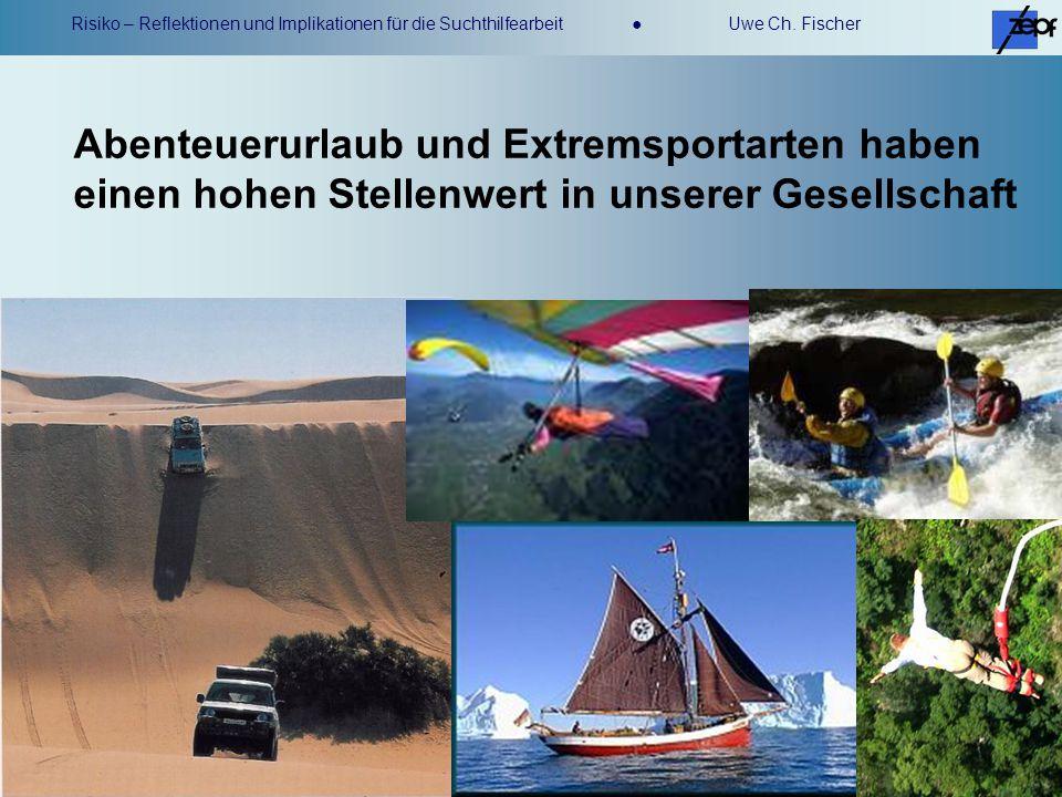 Abenteuerurlaub und Extremsportarten haben